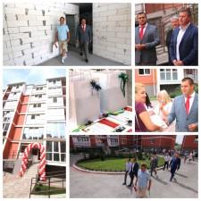 урочисте введення в експлуатацію житлового будинку у м. Дніпро